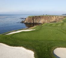 Pebble Beach green